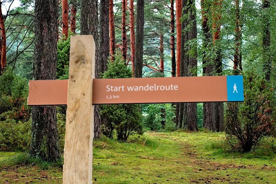 start-wandelen