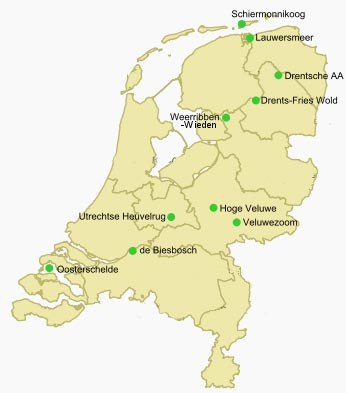 ntionale parken nederland