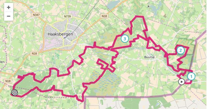 MTB route Haaksbergen