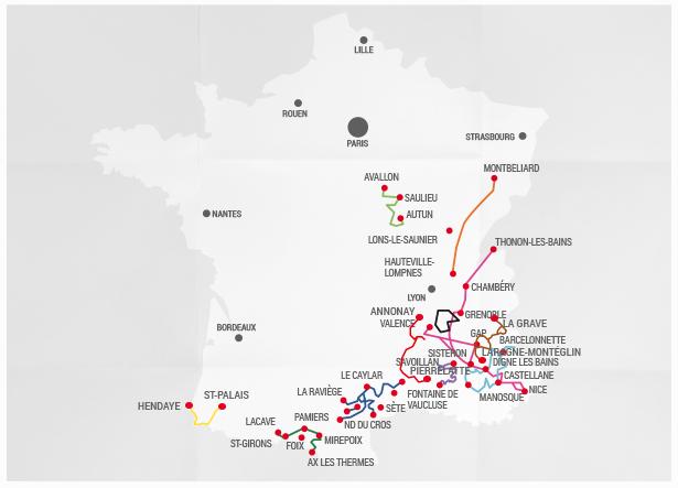 10 Grand Traversées door het wilde Frankrijk