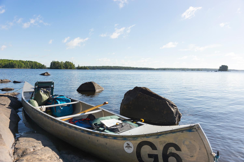 per kano door zweden