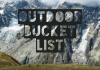 Outdoor-Bucketlist