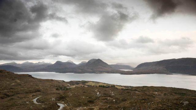 Uitzicht over Loch Torridon
