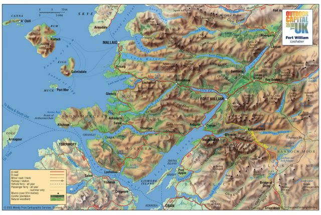 Map Fort William