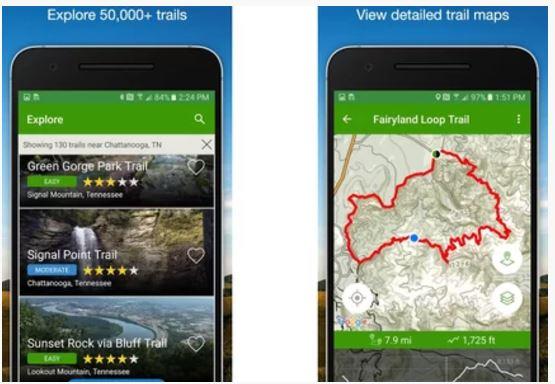 outdoor avontuur apps