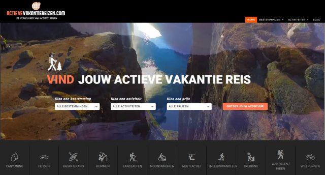Website ActieveVakantieReizen.com