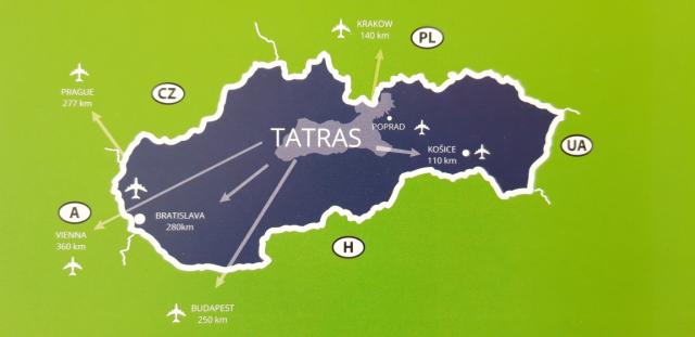tatra-kaart