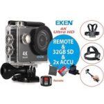 5. EKEN H9R + Sandisk 32GB SD