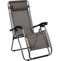 Abbey Camp Relaxstoel - Grijs - Antraciet