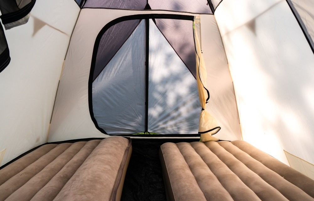 Beste camping matras tent